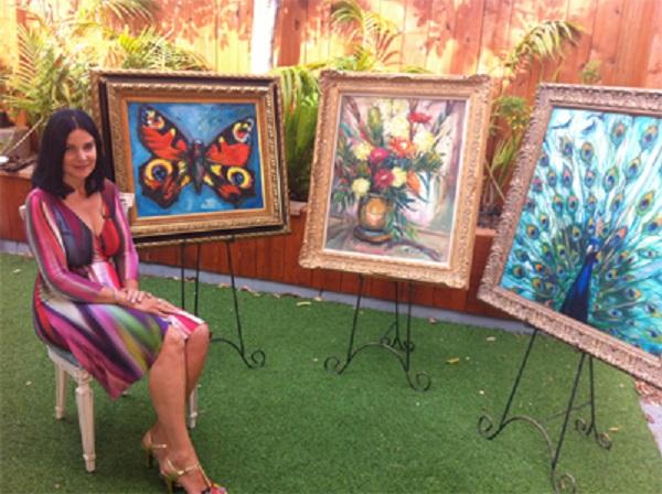 Concetta Antico es una artista con Tetracromatismo quien se calcula que puede ver 98 millones de colores. Ella plasma en sus pinturas una aproximación del mundo que ve.